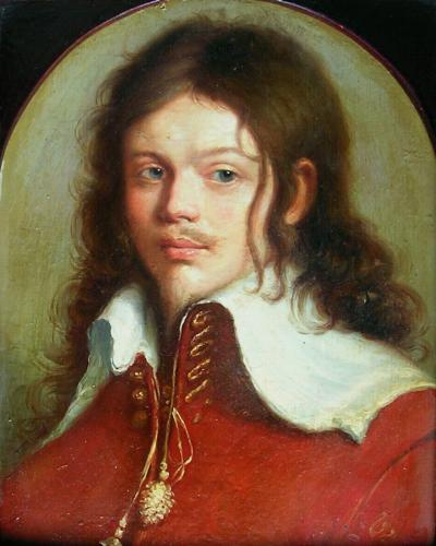 Portrait of a 17th century Gentleman