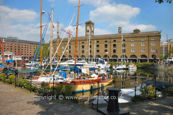 Pictures From In And Around St Katherines Dock London Images
