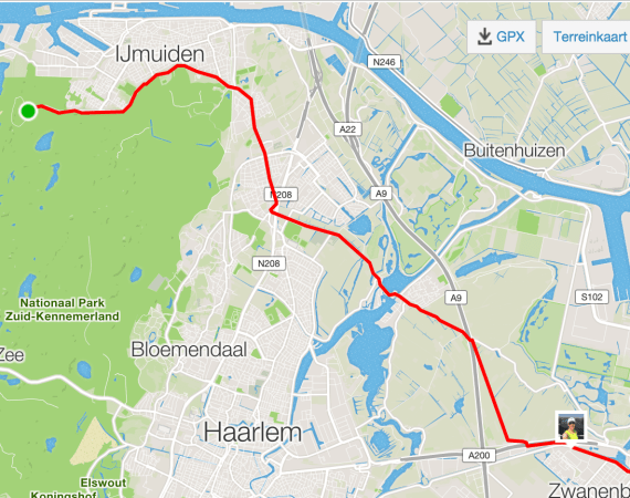 Tip voor lange duurloop: de drop-off and returnloop