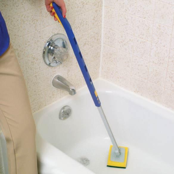 Bathtub Scrubber Bathtub Scrubber With Handle Miles
