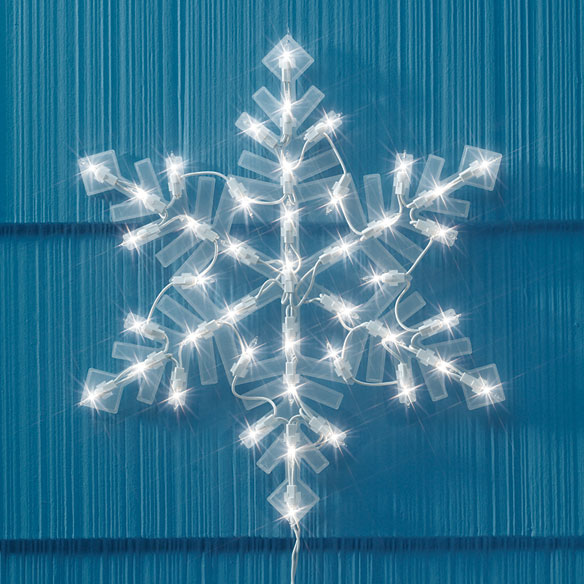 Lighted Snowflake Lighted Snowflake Decorations Miles