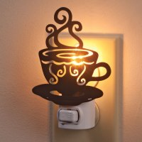 Coffee Cup Nightlight - Night Light - Unique Night Lights ...