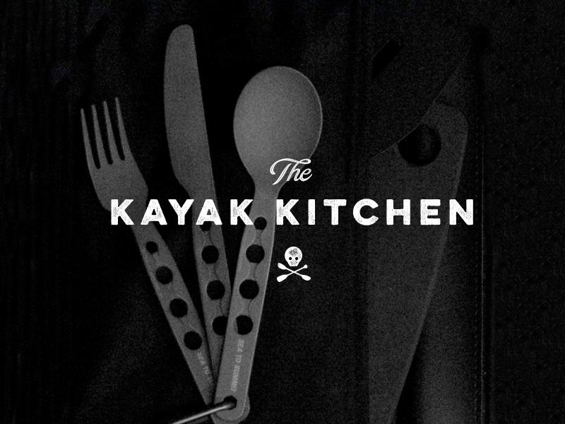 Homemade Kayak Kitchen