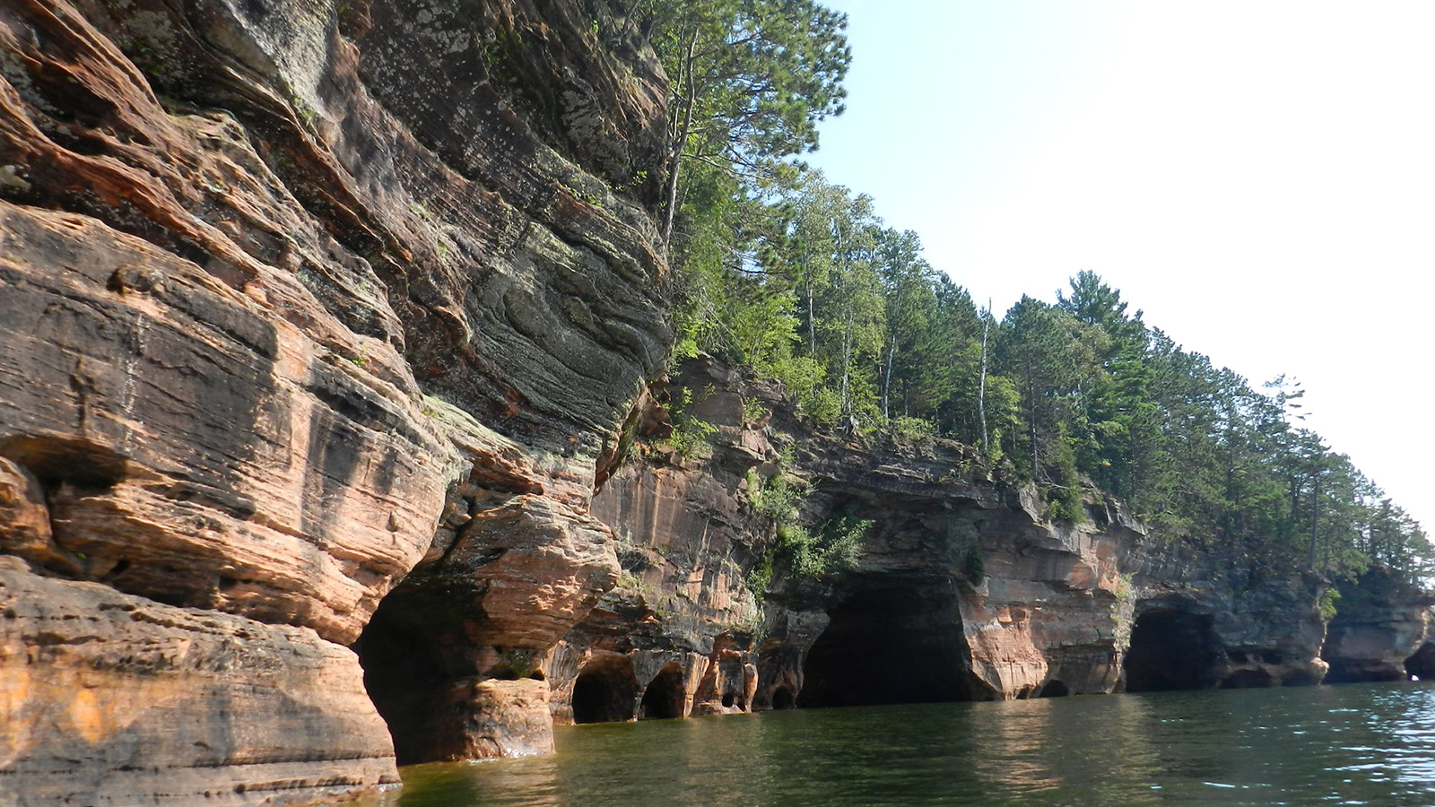 Lake Superior Sea Caves Miles Paddled