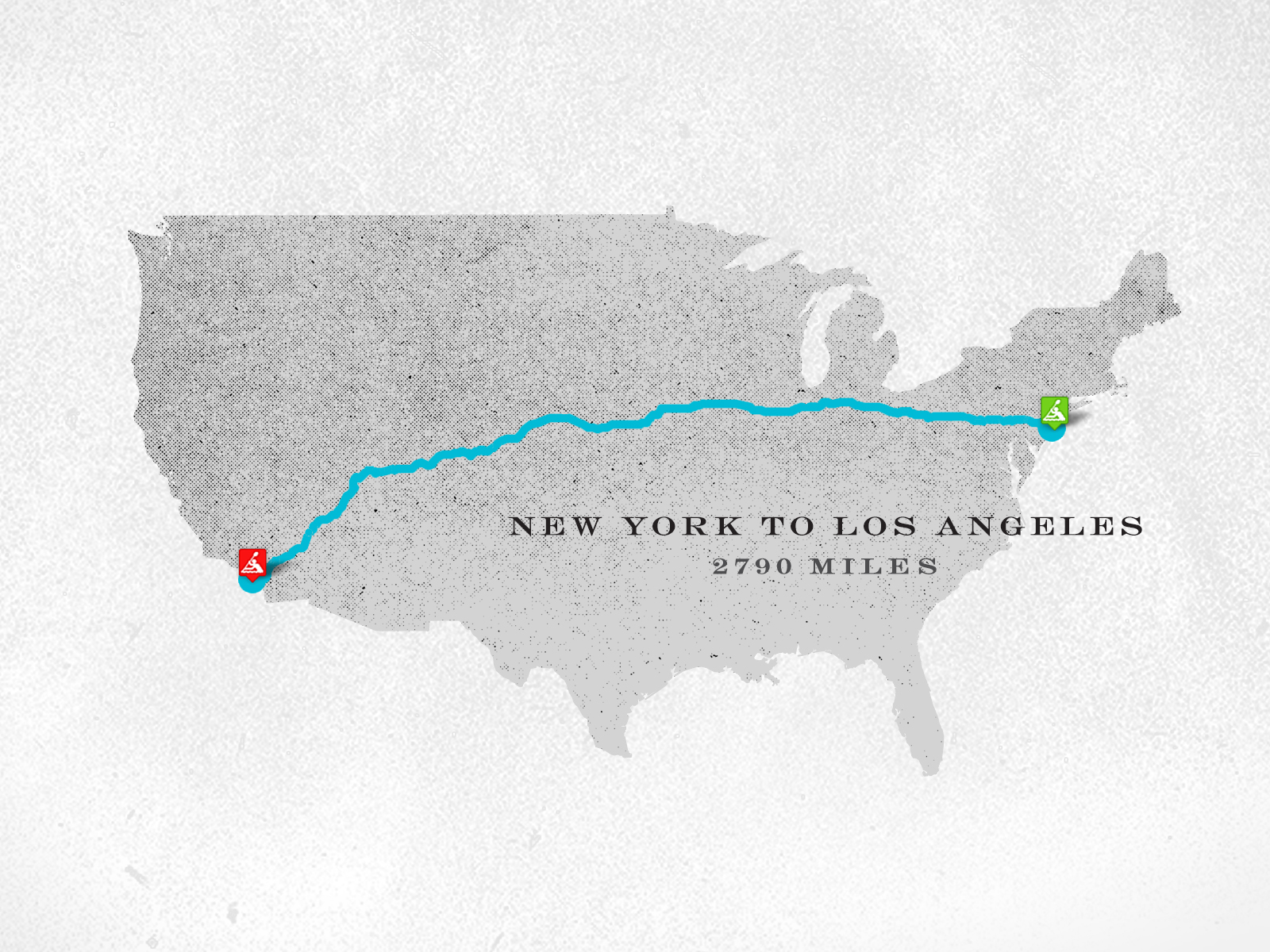 Miles Paddled New York to Los Angeles