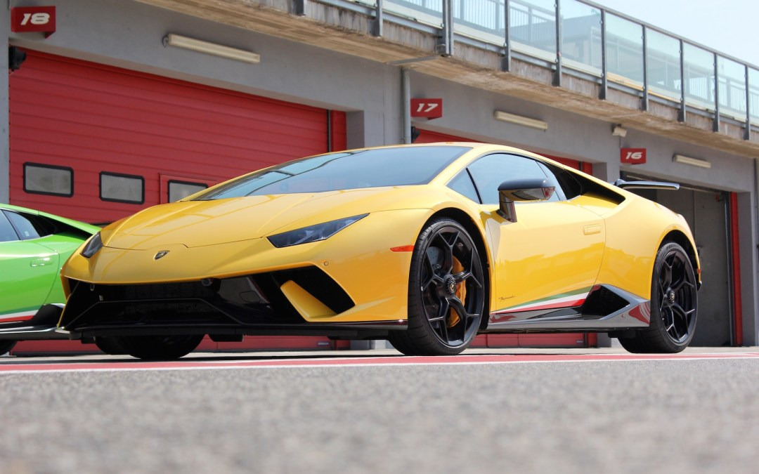 Lamborghini's Huracan Performante Is A Force of Aerodynamic Progress