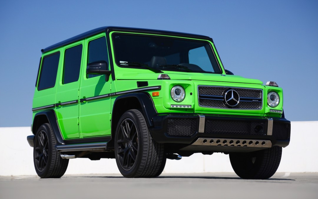 The Mercedes-AMG G65 Is 4×4 History In Rapid Motion