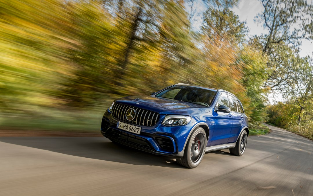 Mercedes-AMG's GLC63 Is More Muscle Car Than SUV
