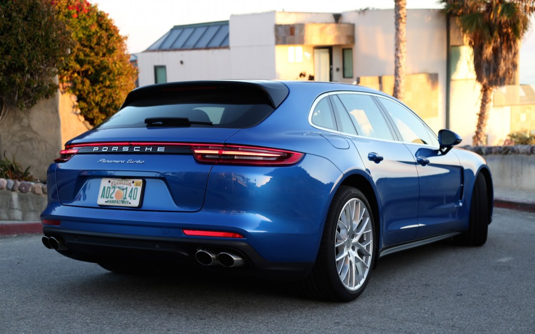 Porsche Panamera Turbo Sport Turismo Review