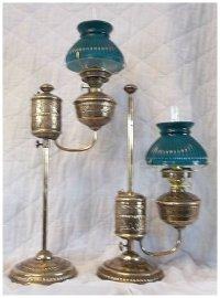 Victorian Era Student Lamps