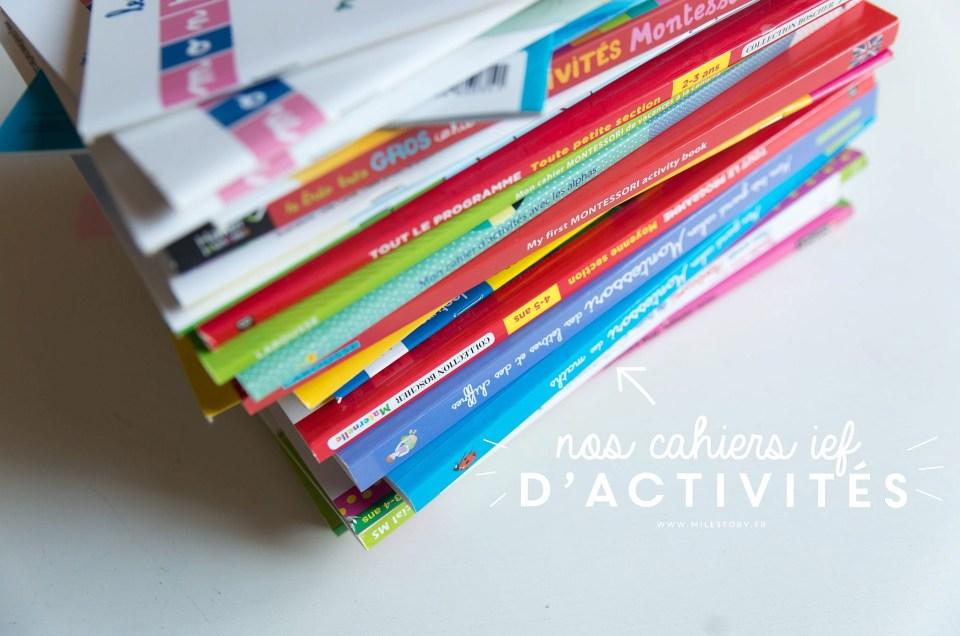 {IEF} Nos cahiers d'activités du moment
