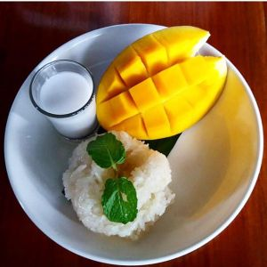 Different plating but same old good taste of authentic Thai Mango