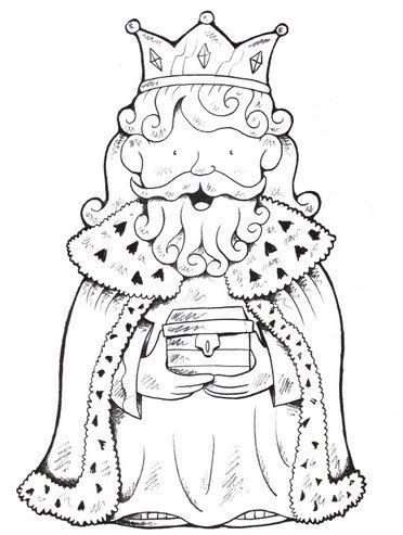Imprime los dibujos de los Reyes Magos para colorear en casa
