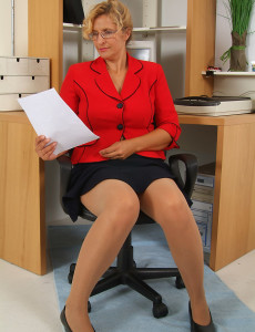 office pantyhose sex