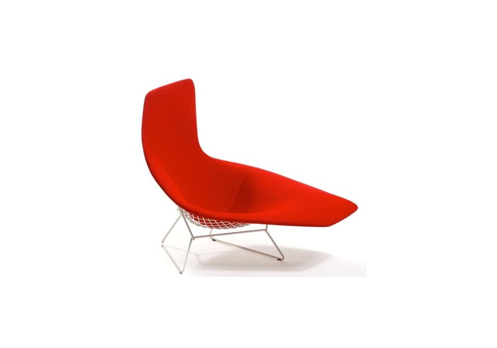 bertoia fauteuil asymetrique rembourres knoll bertoia poltrona asimmetrica interamente rivestita