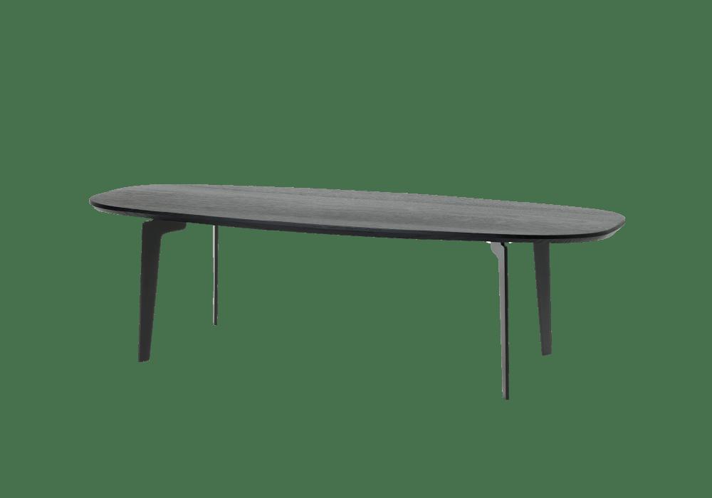 join oval coffee table fritz hansen