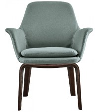 York Lounge Small Armchair Minotti - Milia Shop