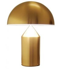 Atollo Gold Table Lamp Oluce