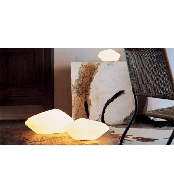 Stone Of Glass Lampada Da Tavolo Oluce  Milia Shop