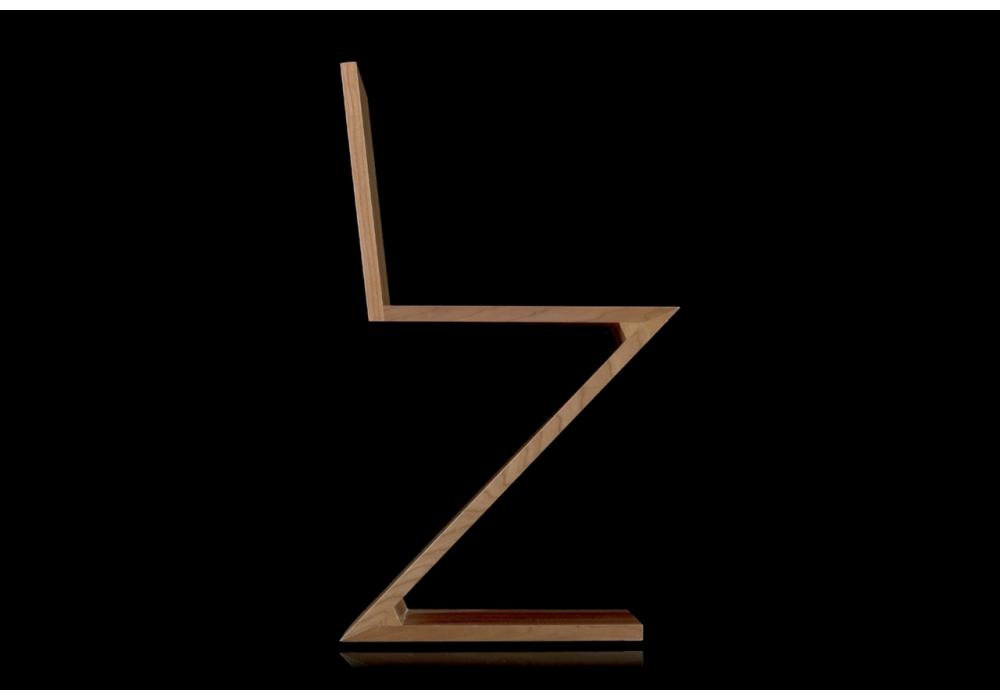 gerrit thomas rietveld chair scoop back 280 zig zag cassina - milia shop