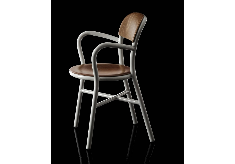 Pipe Chair Wood Chair With Arms Magis  Milia Shop
