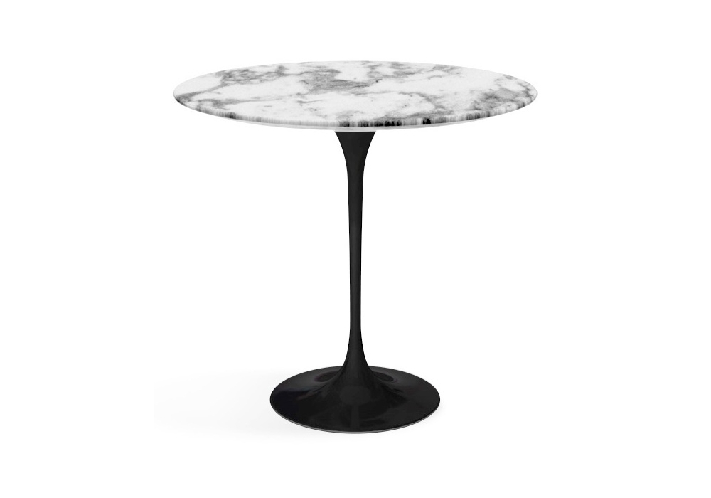 Saarinen Oval Coffee Table Marble Knoll