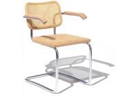 Cesca Chair With Armrests Knoll - Milia Shop