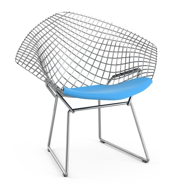 Bertoia Child's Diamond Chair With Cushion Knoll