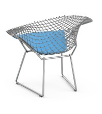 Bertoia Child's Diamond Chair With Cushion Knoll - Milia Shop
