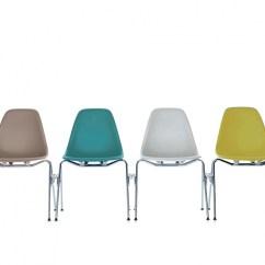 Eames Bucket Chair Ergonomic For Office Plastic Side Dss Vitra Milia Shop