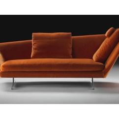 Sofa Box Cushion Covers Air Chair Bed Zeus Oblique Backrest Flexform - Milia Shop