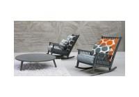 Gray 09 Rocking Chair Gervasoni