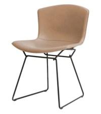Bertoia Knoll Side Chair in Cowhide