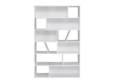 bibliotheque design blanche azteque miliboo stephane plaza