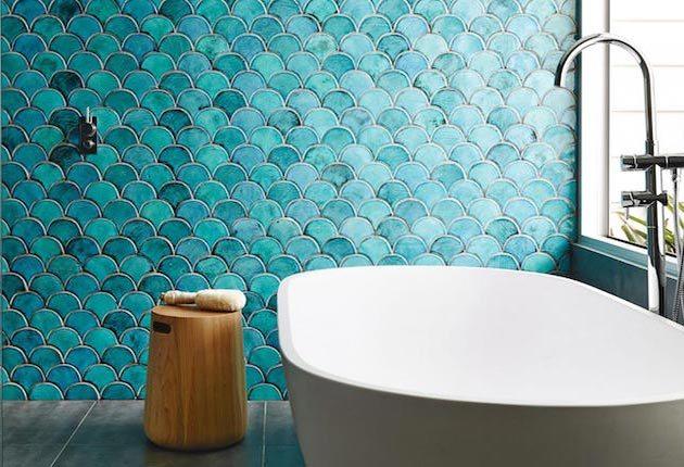 Descubre los azulejos escama de pez  Mil Ideas de Decoracin