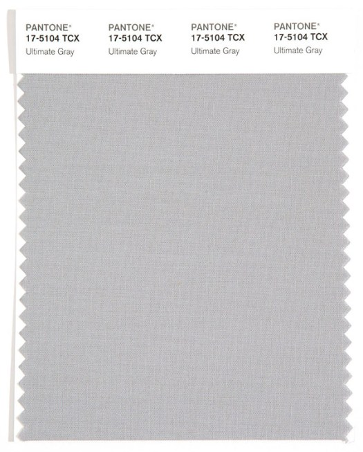 Color del año Pantone Ultimate grey