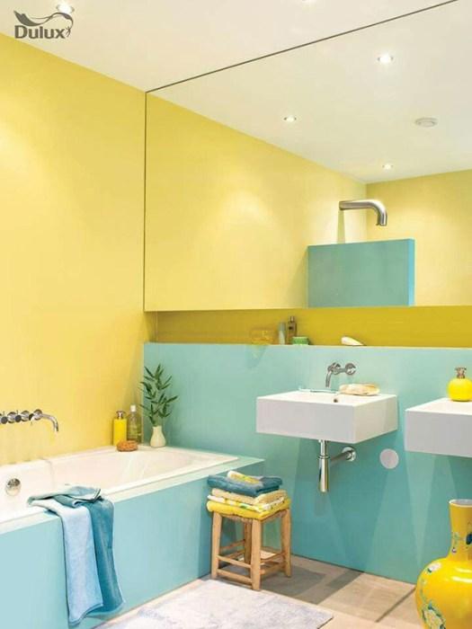 Colores para un baño Feng Shui: Amarillo