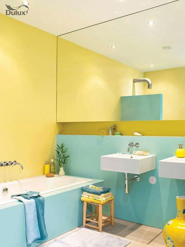 Feng Shui banyosu için renkler: Sarı