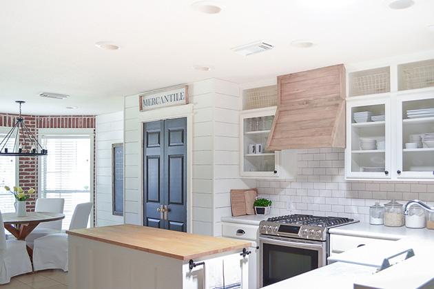 Eski bir mutfak nasıl dekore edilir: Ahşap