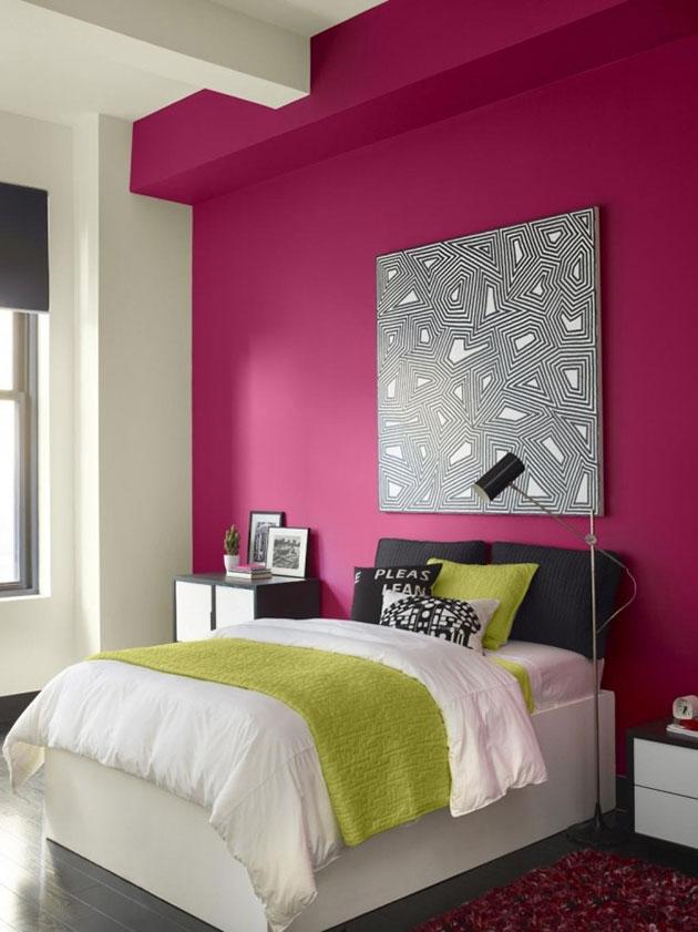29 fotos e ideas para pintar una habitacin en dos colores