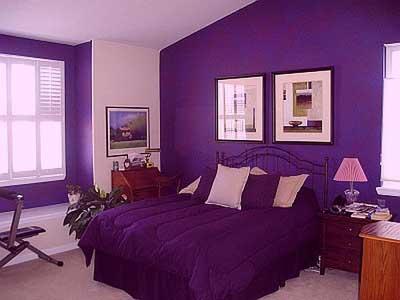 Como pintar una habitacin de morado Fotos ideas y consejos