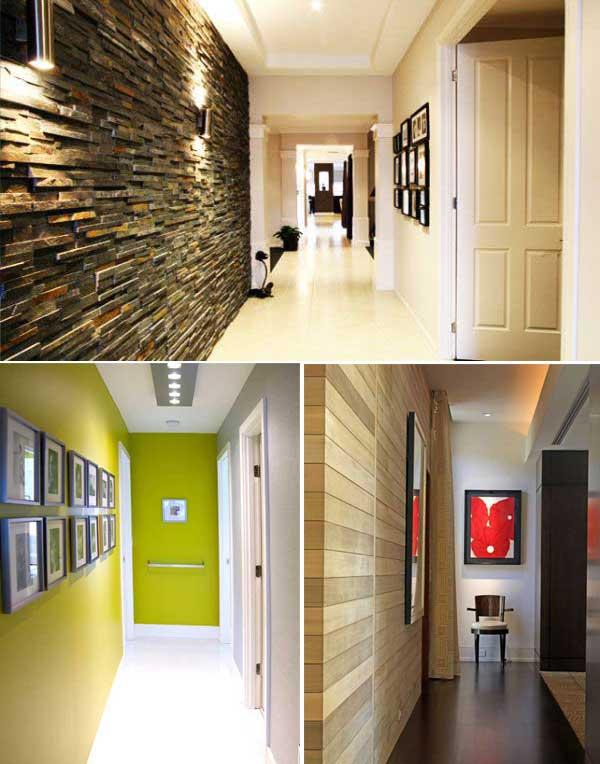 50 ideas para pintar y decorar un pasillo estrecho  Mil