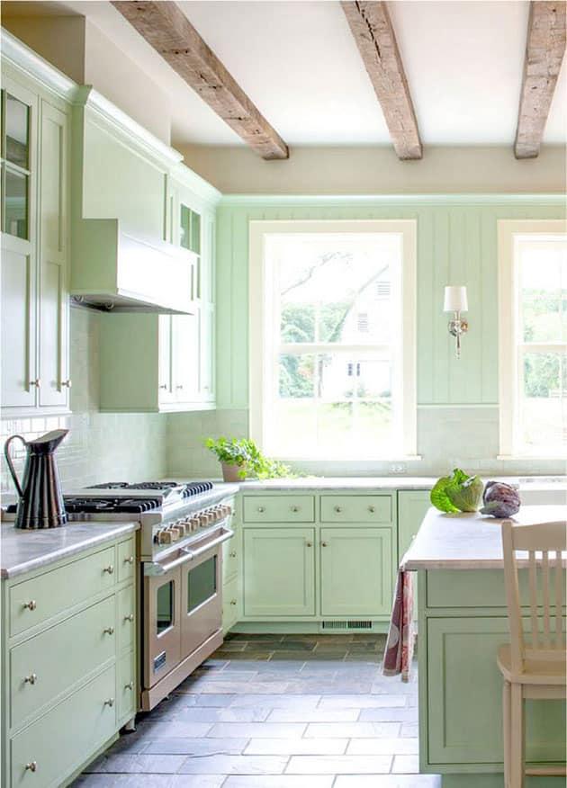 Pintar muebles de cocina Antes y despus fotos y