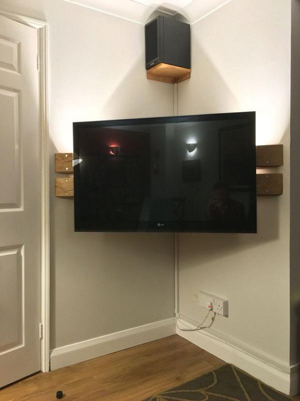 Televizyonu köşeye sıkıştıracak çözümler