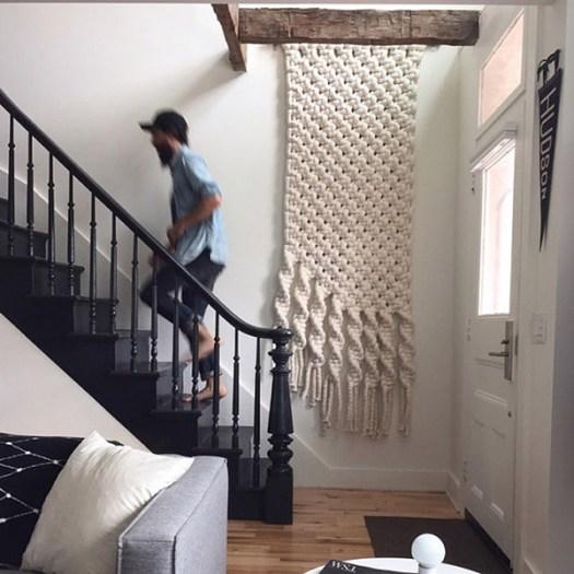 Macramé para colgar en las paredes