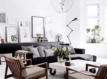 Decoración nórdica. 40 hermosos salones nórdicos. | Mil ...