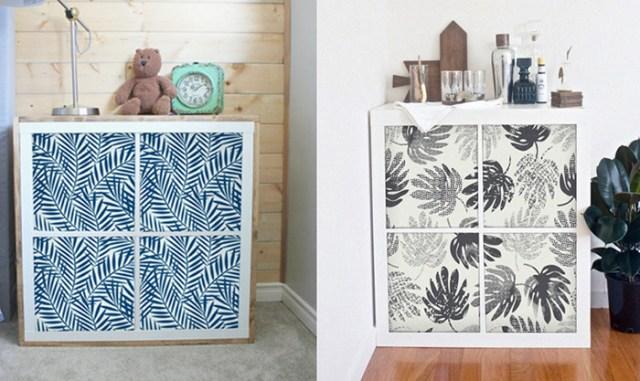 IKEA mobilyaları için dekoratif vinil yapışkan