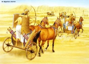 Voiture de conflit égyptienne