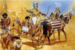 Ägyptischer Streitwagen