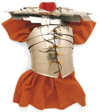 罗马军团士兵的胸甲